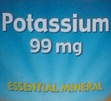 Хелатный калий в таблетках