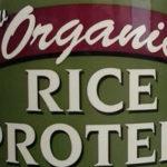 Сырой органический рисовый протеин