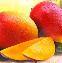Органическое сушеное манго без сахара