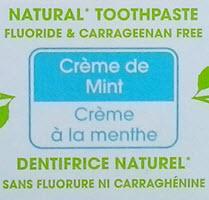 Хорошая натуральная зубная паста без фтора, сульфатов, парабенов